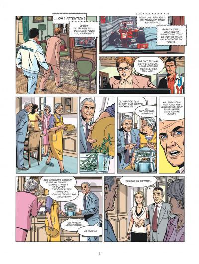 Page 8 Michel Vaillant - nouvelle saison tome 1 - au nom du fils