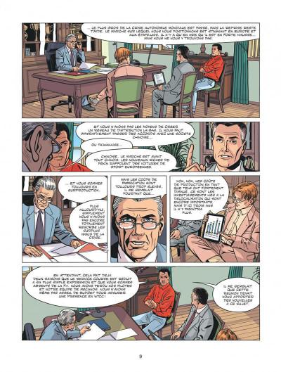 Page 9 Michel Vaillant - nouvelle saison tome 1 - au nom du fils