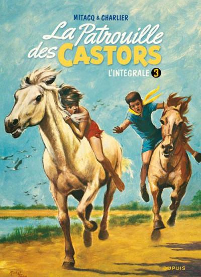 Couverture la patrouille des castors ; INTEGRALE VOL.3 ; 1960-1963