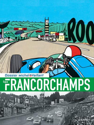 Couverture Dossier Michel Vaillant tome 14 - Spa-Francorchamps