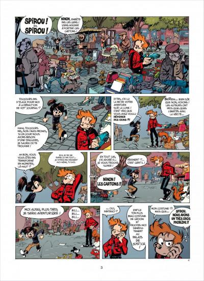 Page 2 Spirou et fantasio tome 53 - dans les griffes de la vipère