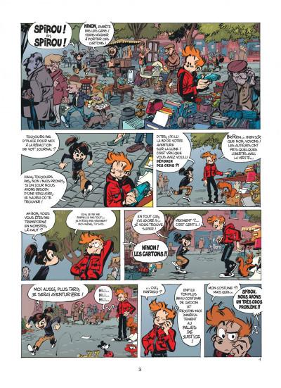 Page 3 Spirou et fantasio tome 53 - dans les griffes de la vipère