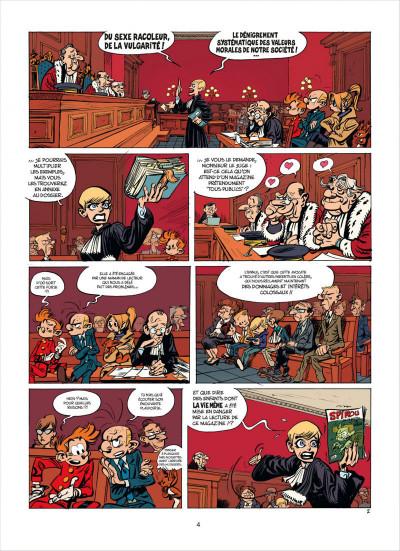 Page 4 Spirou et fantasio tome 53 - dans les griffes de la vipère