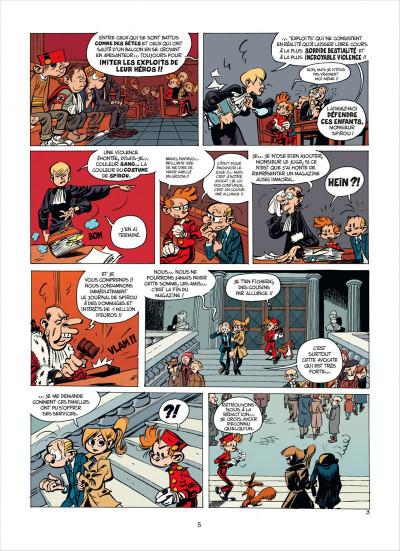 Page 5 Spirou et fantasio tome 53 - dans les griffes de la vipère
