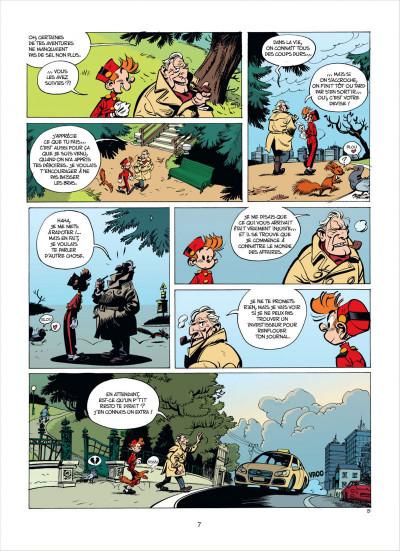Page 7 Spirou et fantasio tome 53 - dans les griffes de la vipère