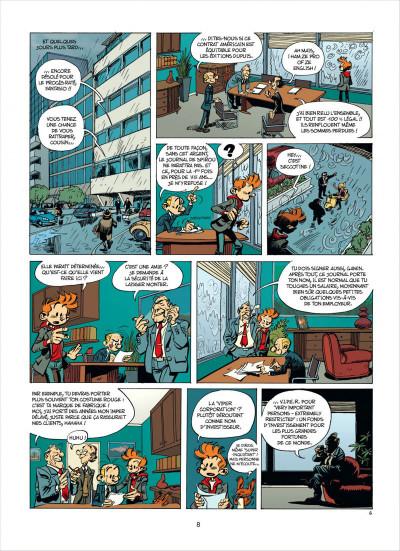 Page 8 Spirou et fantasio tome 53 - dans les griffes de la vipère
