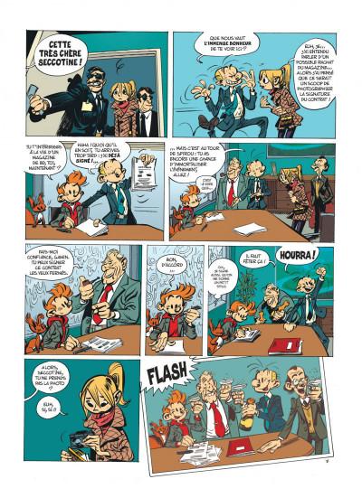 Page 9 Spirou et fantasio tome 53 - dans les griffes de la vipère