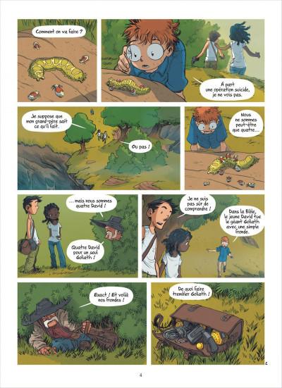 Page 4 les enfants d'ailleurs tome 6 - confrontation