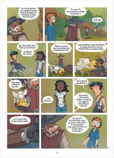 Page 6 les enfants d'ailleurs tome 6 - confrontation