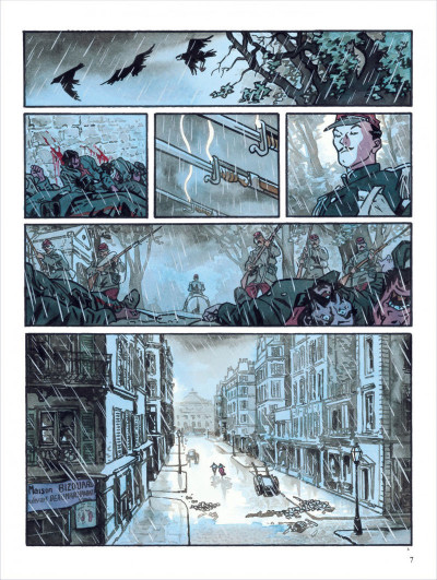 Page 7 secrets ; l'écorché ; intégrale