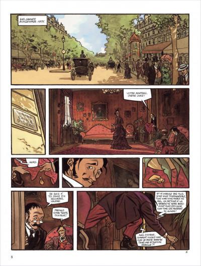 Page 8 secrets ; l'écorché ; intégrale