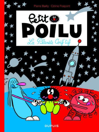 Couverture Petit Poilu T.12 - la planète Coif'tif