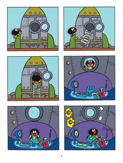 Page 6 Petit Poilu T.12 - la planète Coif'tif
