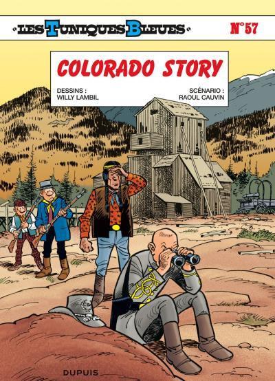 Couverture Les tuniques bleues tome 57 - Colorado story