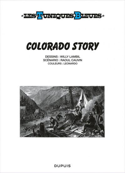 Page 1 Les tuniques bleues tome 57 - Colorado story