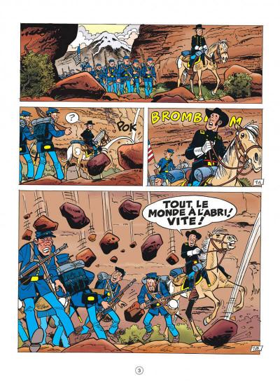 Page 3 Les tuniques bleues tome 57 - Colorado story