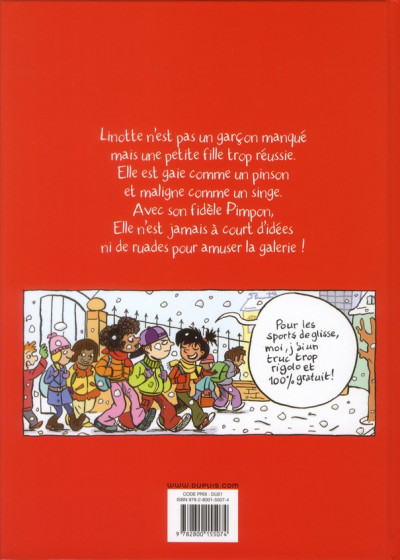 Dos top Linotte tome 1 - trop stylé !
