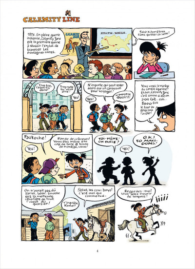 Page 4 top Linotte tome 1 - trop stylé !