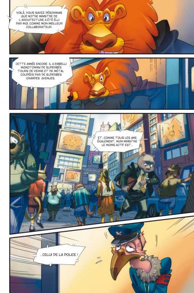 Page 1 Walibi tome 1 - à la découverte de Shimmeria