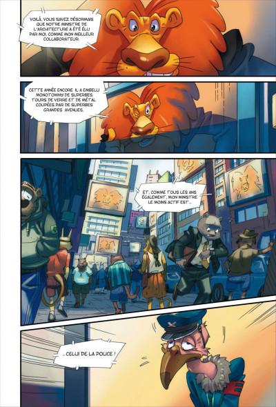 Page 3 Walibi tome 1 - à la découverte de Shimmeria