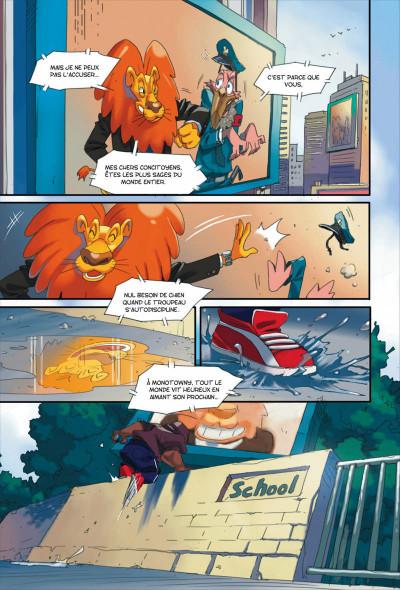Page 4 Walibi tome 1 - à la découverte de Shimmeria