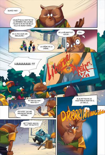 Page 6 Walibi tome 1 - à la découverte de Shimmeria