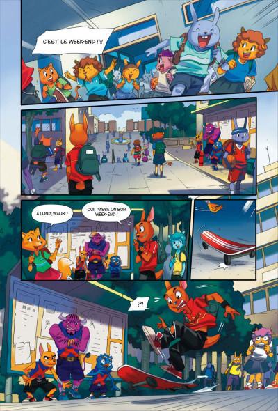 Page 7 Walibi tome 1 - à la découverte de Shimmeria