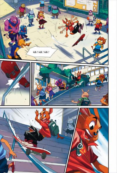 Page 8 Walibi tome 1 - à la découverte de Shimmeria