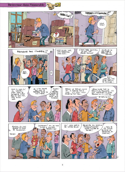 Page 3 Chers voisins tome 1