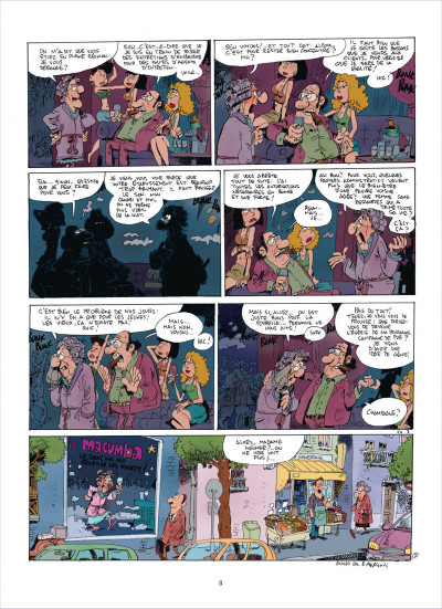 Page 8 Chers voisins tome 1