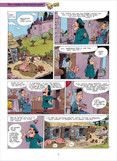 Page 9 Chers voisins tome 1