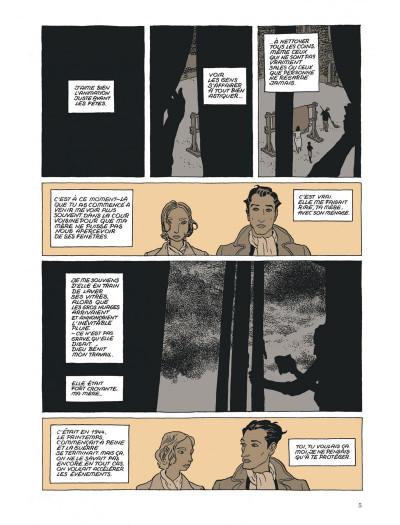 Page 5 l'insurrection tome 1 - avant l'orage