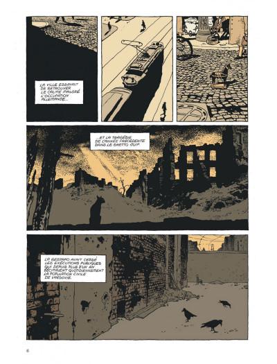 Page 6 l'insurrection tome 1 - avant l'orage