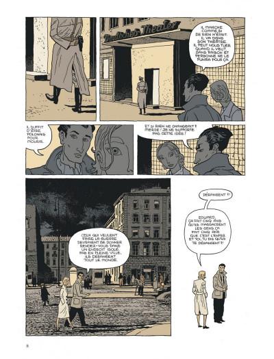 Page 8 l'insurrection tome 1 - avant l'orage