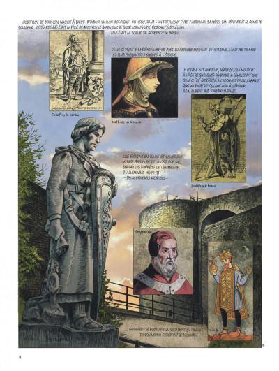 Page 8 Godefroid de Bouillon tome 1