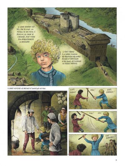 Page 9 Godefroid de Bouillon tome 1