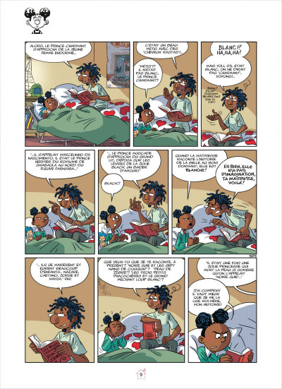 Page 9 Tamara tome 11 - quelle famille d'enfer !