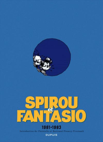 Page 2 Spirou et Fantasio - intégrale tome 13 - 1981-1983
