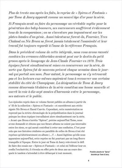 Page 5 Spirou et Fantasio - intégrale tome 13 - 1981-1983