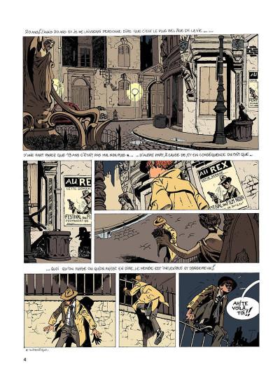 Page 3 Jérôme K. Jérôme Bloche T.1 - l'ombre qui tue