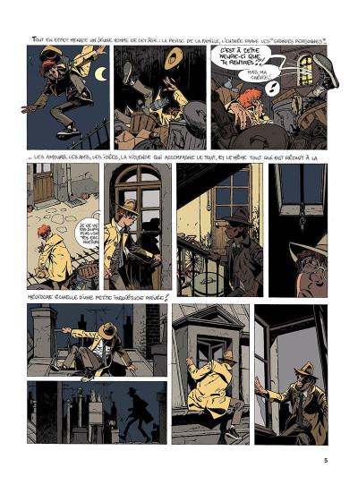 Page 4 Jérôme K. Jérôme Bloche T.1 - l'ombre qui tue