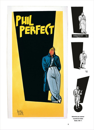 Page 9 Phil Perfect ; intégrale