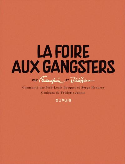 Page 2 Histoire courte tome 2 - la foire aux gangsters