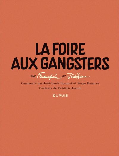 Page 3 Histoire courte tome 2 - la foire aux gangsters