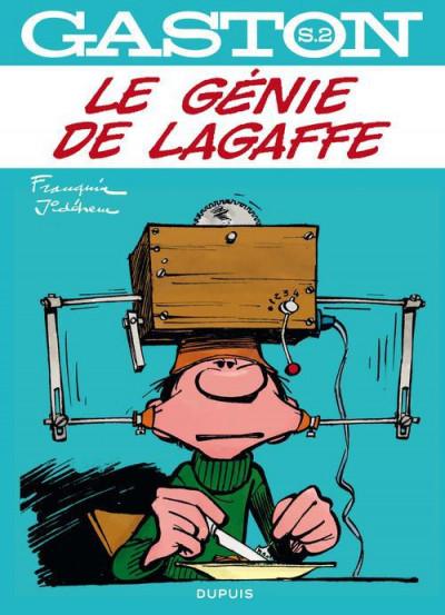 Couverture Gaston - hors-série tome 2 - le génie de Lagaffe