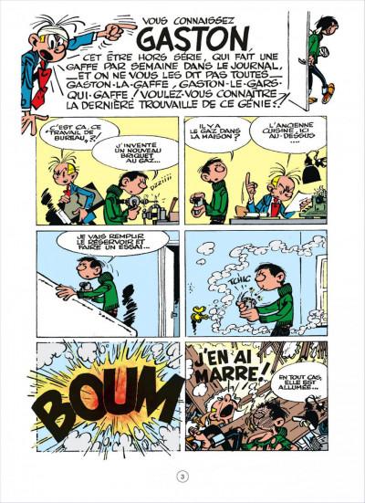 Page 2 Gaston - hors-série tome 2 - le génie de Lagaffe