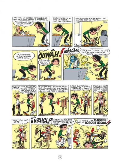 Page 5 Gaston - hors-série tome 2 - le génie de Lagaffe