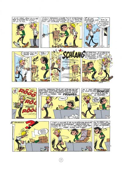 Page 7 Gaston - hors-série tome 2 - le génie de Lagaffe