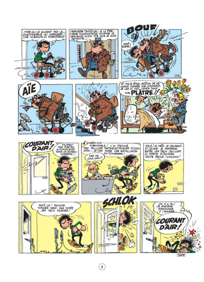 Page 8 Gaston - hors-série tome 2 - le génie de Lagaffe