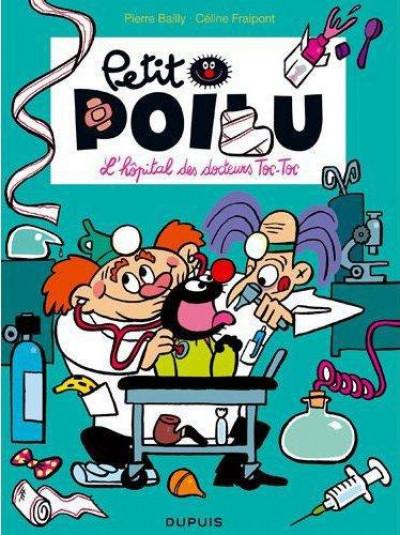 Couverture Petit Poilu T.11 - l'hôpital des docteurs Toc-Toc